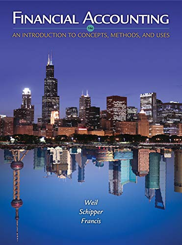 9781111823450: Financial Accounting: An Introduction to Concepts, Methods and Uses
