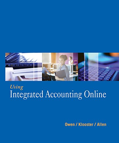 9781111823580: Using Integrated Accounting Online (with Cengage Learning?s General Ledger Software Printed Access Card)