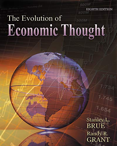 The Evolution of Economic Thought (with Economic: Taggart, Ralph