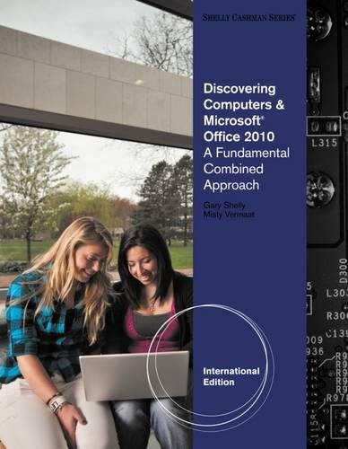 9781111824877: Discovering Computers and Microsoft (R) Office 2010: A Fundamental Combined Approach, International Edition