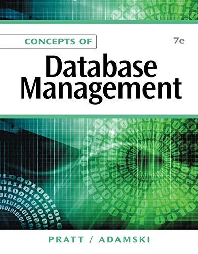 9781111825911: Concepts of Database Management