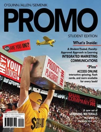 9781111826116: PROMO (with Marketing CourseMate with eBook Printed Access Card)