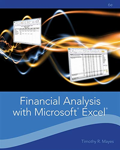 9781111826246: Financial Analysis with Microsoft Excel