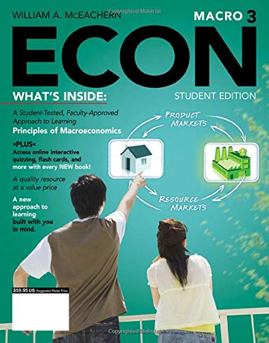9781111826697: ECON Macro 3 (with CourseMate Printed Access Card) (Engaging 4LTR Press Titles for Economics)