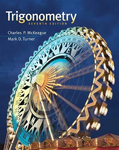 Trigonometry: Charles P. McKeague