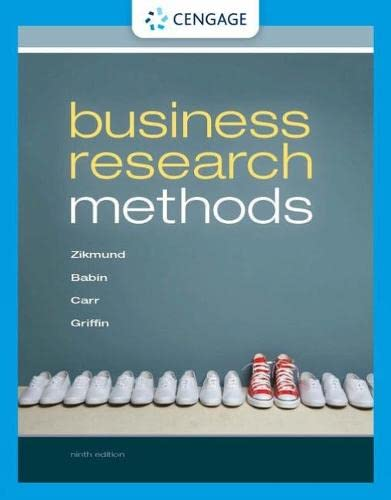 Marketing Analysis: Department of Marketing Ninth Edition: Zikmund, Babin, Carr,