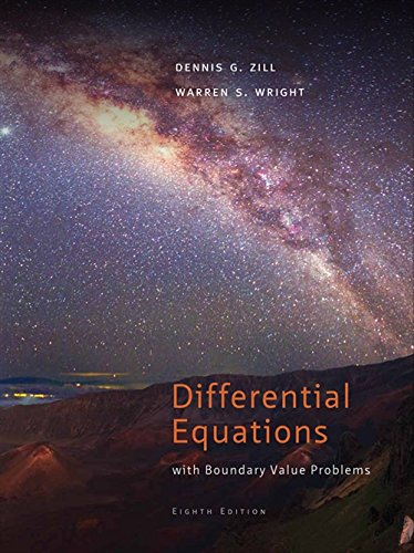 Differential Equations with Boundary-Value Problems, 8th Edition: Warren S. Wright,