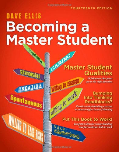 Becoming a Master Student (Textbook-specific CSFI): Ellis, Dave