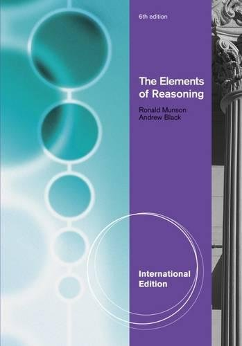9781111827618: The Elements of Reasoning
