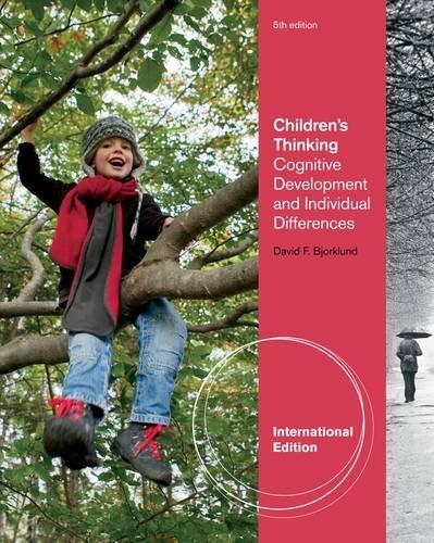 9781111827991: Children's Thinking