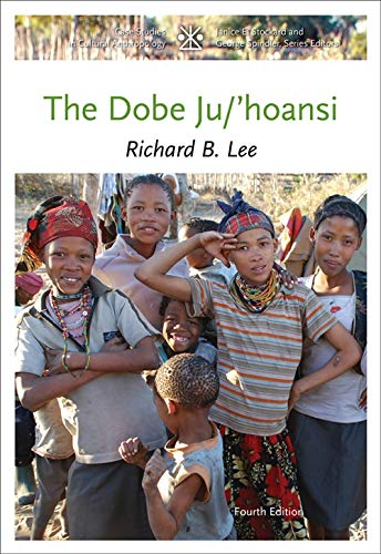 9781111828776: The Dobe Ju/'Hoansi (Case Studies in Cultural Anthropology)