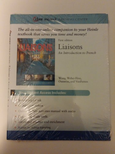 9781111829261: Liaisons An Introduction to French Access Card