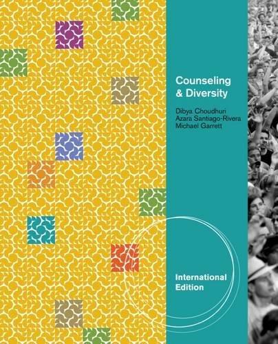 9781111829490: Counseling & Diversity, International Edition