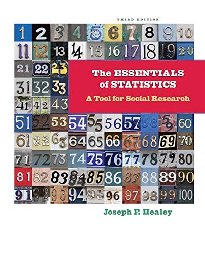 9781111829568: The Essentials of Statistics: A Tool for Social Research