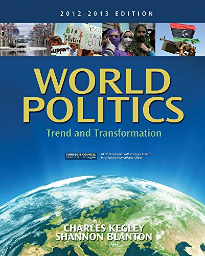 9781111830069: World Politics: Trend and Transformation, 2012 - 2013 Edition