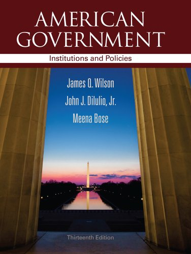 9781111830076: American Government: Institutions and Policies