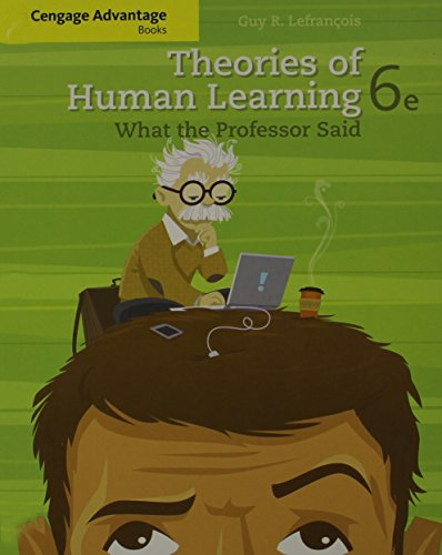 9781111830182: Cengage Advantage Books: Theories of Human Learning: What the Professor Said