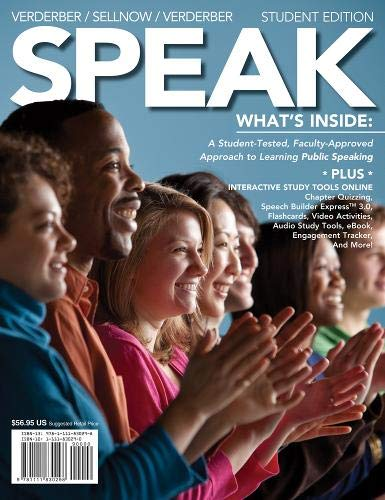 Speak (1111830290) by Deanna D. Sellnow; Kathleen S. Verderber; Rudolph F. Verderber