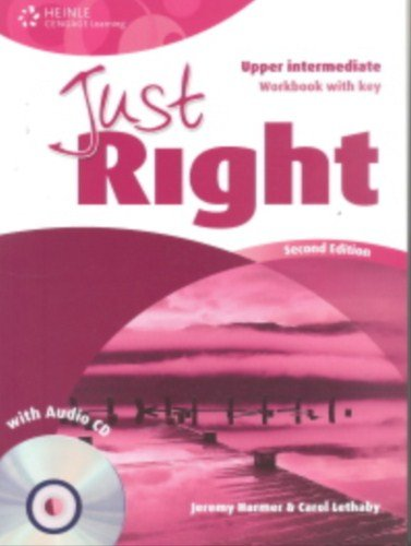 9781111830533: Just Right Upper Intermediate: Workbook with Key and Audio CD