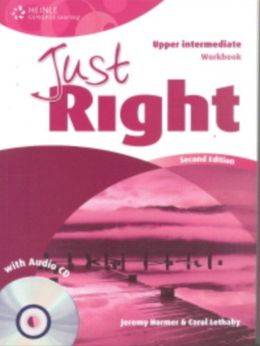 9781111830564: Just Right Upper Intermediate: Workbook with Audio CD