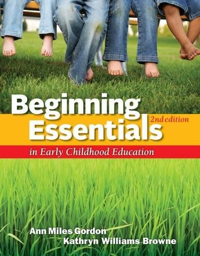 9781111830830: Beginning Essentials in Early Childhood Education