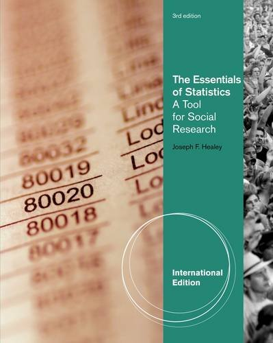 9781111831585: The Essentials of Statistics: A Tool for Social Research. Joseph F. Healey