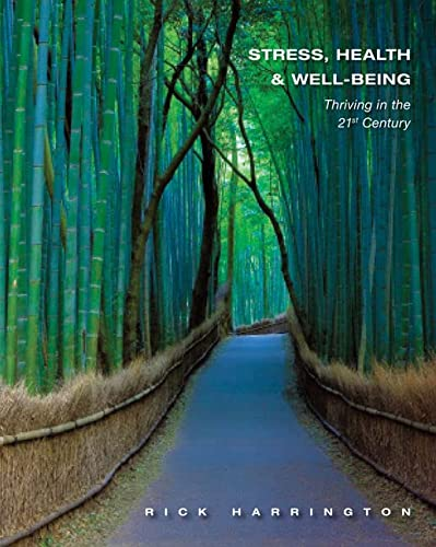 9781111831615: Stress, Health and Well-Being: Thriving in the 21st Century