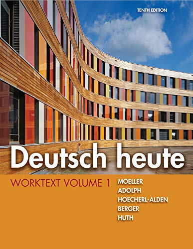 9781111832414: Deutsch heute Worktext, Volume 1