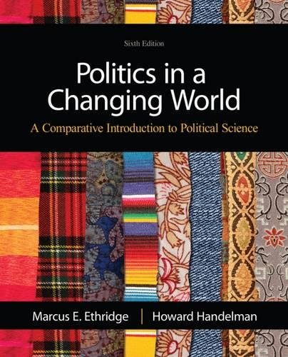 9781111832537: Politics in a Changing World