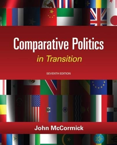 9781111832575: Comparative Politics in Transition, 7th Edition