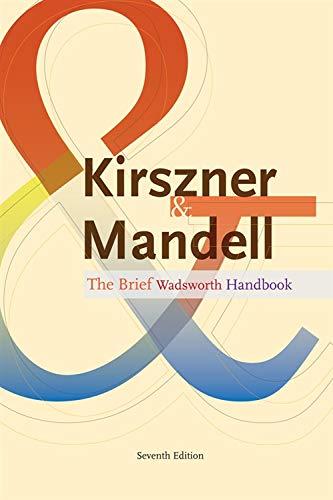 9781111833039: The Brief Wadsworth Handbook