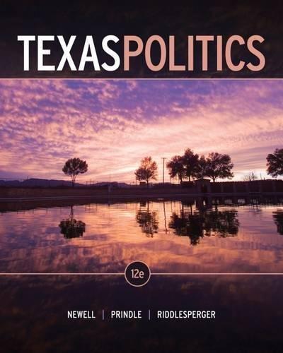 9781111833060: Texas Politics