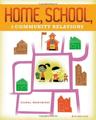 9781111833237: Home, School, and Community Relations