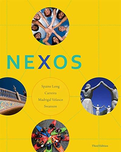 9781111833244: Nexos (World Languages)