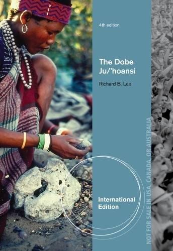 9781111833367: The Dobe Ju/'Hoansi, International Edition