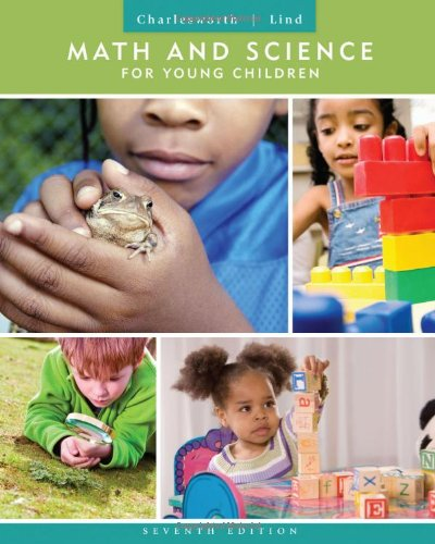 9781111833398: Math and Science for Young Children