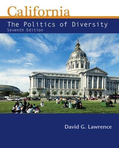 9781111833534: California: The Politics of Diversity