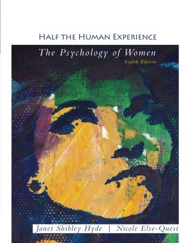 9781111833824: Half the Human Experience