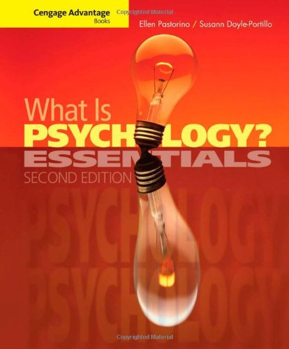 9781111834159: What is Psychology?: Essentials