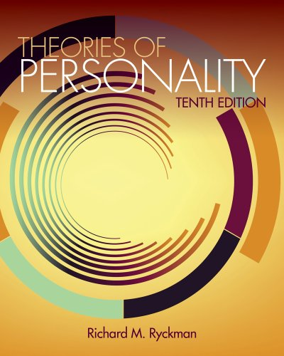9781111834517: Cengage Advantage Books: Theories of Personality