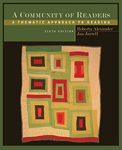 9781111834579: A Community of Readers: A Thematic Approach to Reading