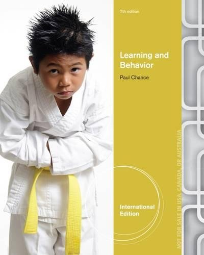 9781111834944: Learning and Behavior