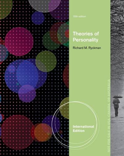 9781111835019: Theories of Personality