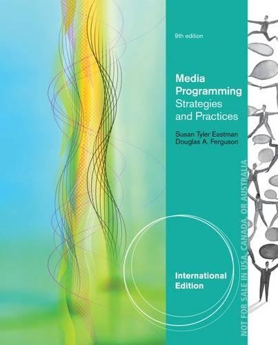 9781111835026: Media Programming: Strategies and Practices, International Edition