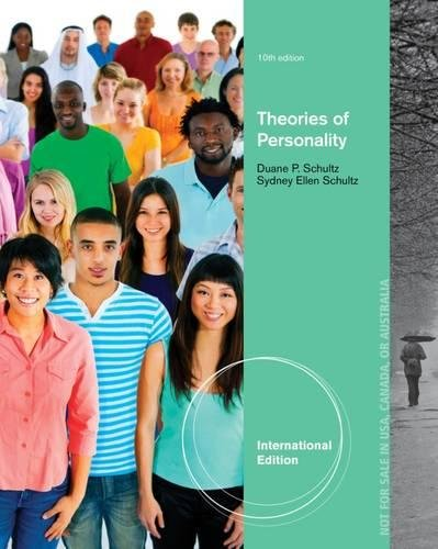 9781111835231: Theories of Personality