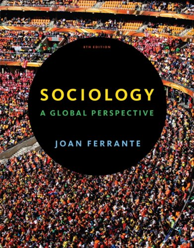 9781111835286: Study Guide for Ferrante's Sociology: A Global Perspective, 8th