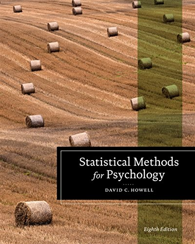 9781111835484: Statistical Methods for Psychology (Psy 613 Qualitative Research and Analysis in Psychology)