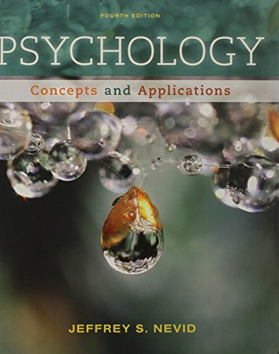 9781111835491: Psychology: Concepts and Applications