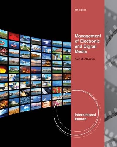 Management of Electronic and Digital Media, 5th: Alan B. Albarran