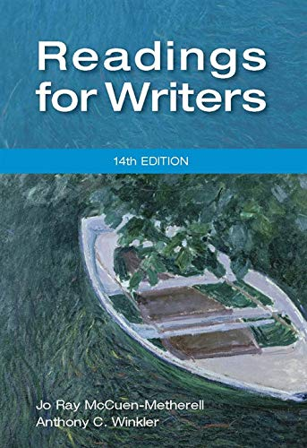9781111837068: Readings for Writers